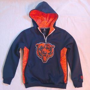 NFL Chicago Bears Youth Hoodie -like new!